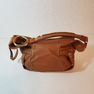 Kenneth Cole New York women leather nude purse